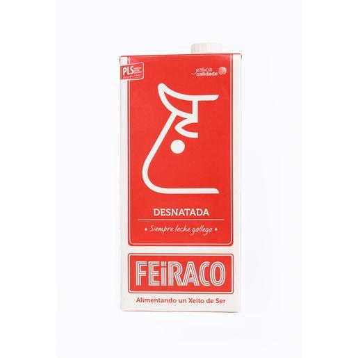 FEIRACO leche desnatada envase1 lt