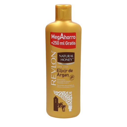 NATURAL HONEY gel de ducha elixir de argán bote 1 lt