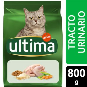 ULTIMA alimento para gatos control tracto urinario bolsa 800 gr