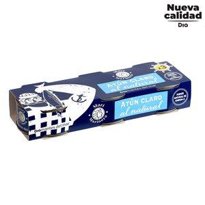DIA MARI MARINERA atún claro al natural pack 3 latas de 60 gr