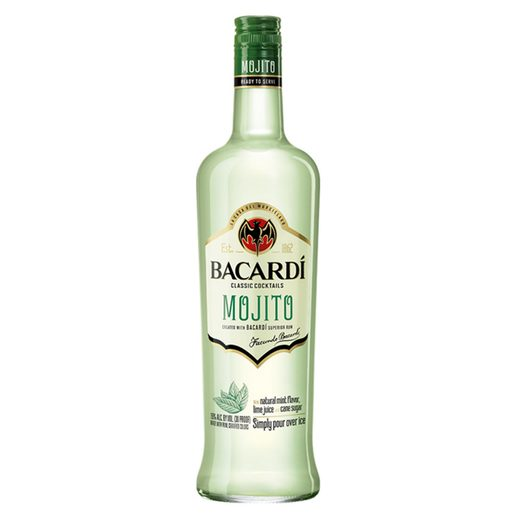 BACARDI mojito cóctel botella 70 cl