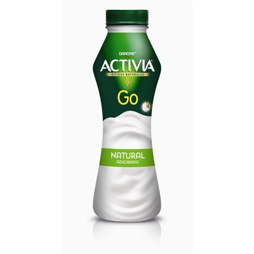 DANONE ACTIVIA Go yogur líquido natural botella 280 gr