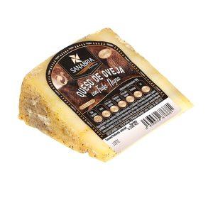 SANABRIA queso curado de oveja con trufa cuña 200 gr