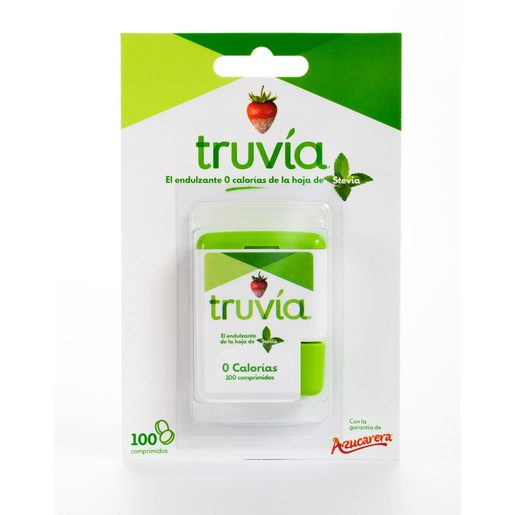 TRUVÍA endulzante 0 calorías de la hoja de stevia 100 pc