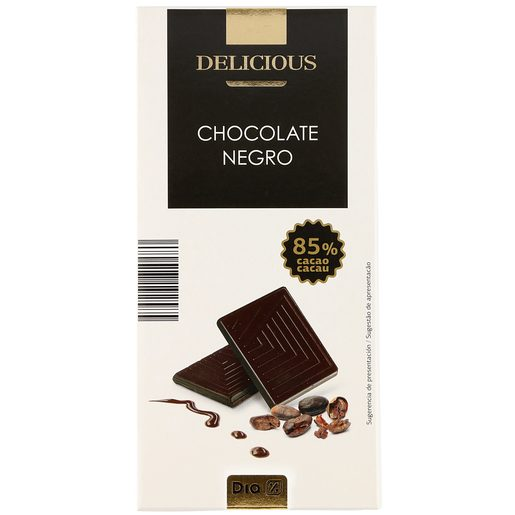 DIA DELICIOUS chocolate negro 85% tableta 100 gr