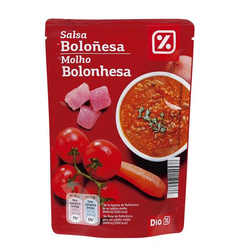 DIA salsa boloñesa bolsa 140 gr
