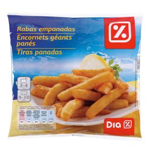 DIA rabas empanadas bolsa 500 gr