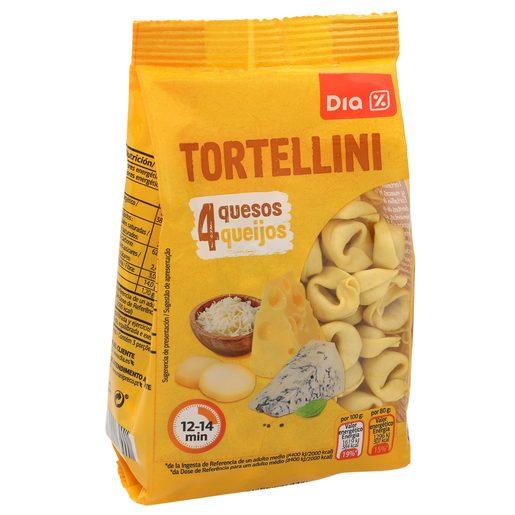 DIA tortellini de queso PAQUETE 250GR