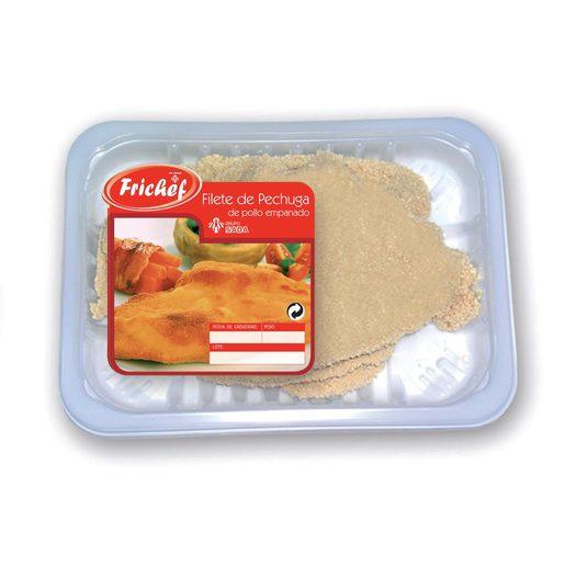 FRICHEF filetes de pollo empanados bandeja 400 gr