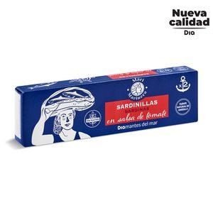 DIA MARI MARINERA sardinilla en salsa de tomate pack 2 latas 62g