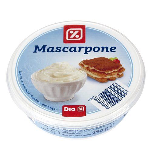 DIA queso mascarpone tarrina 250 gr