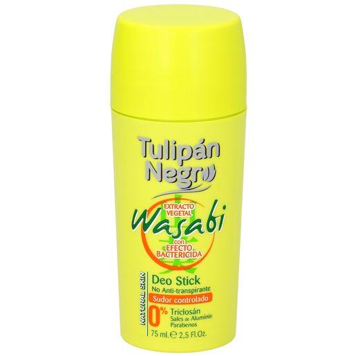 TULIPAN NEGRO desodorante wasabi barra 75 ml