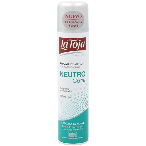 LA TOJA espuma de afeitar neutro care spray 300 ml