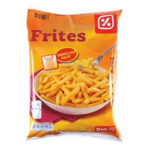 DIA patatas fritas congeladas bolsa 2.5 Kg