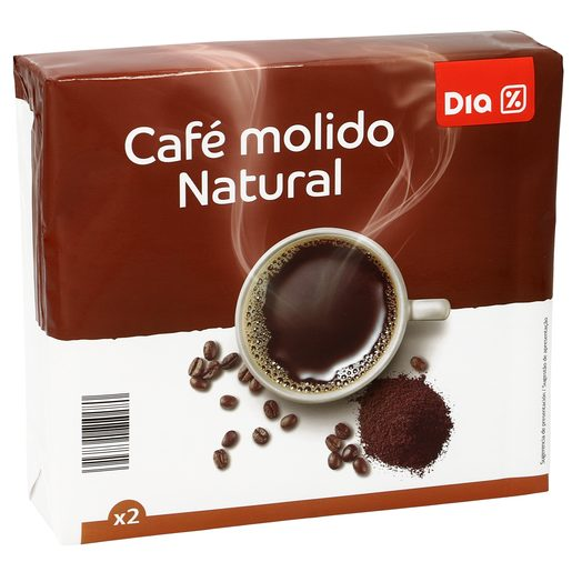DIA café molido natural paquete 2 x 250 gr