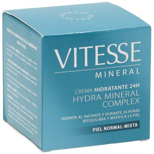 VITESSE Mineral crema hidratante hydra complex piel normal/mixta tarro 50 ml