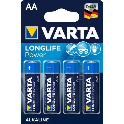 VARTA High energy pila alcalina AA LR6 blíster 4 uds