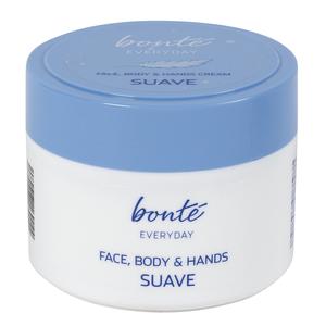 BONTE crema hidratante cara, cuerpo y manos tarro 300 ml