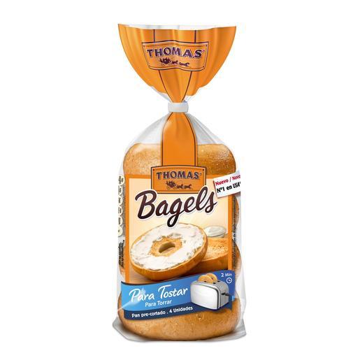 THOMAS pan bagels bolsa 340 gr