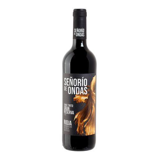SEÑORIO DE ONDAS vino tinto gran reserva DO Rioja botella 75 cl