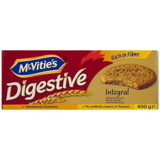 MC VITIÉS galletas digestive  integrales caja 400 grs