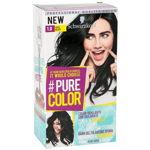 PURE COLOR tinte Vinyl Black Nº 1.0 caja 1 ud