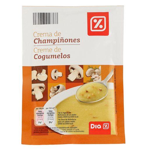 DIA crema de champiñones sobre 68 gr
