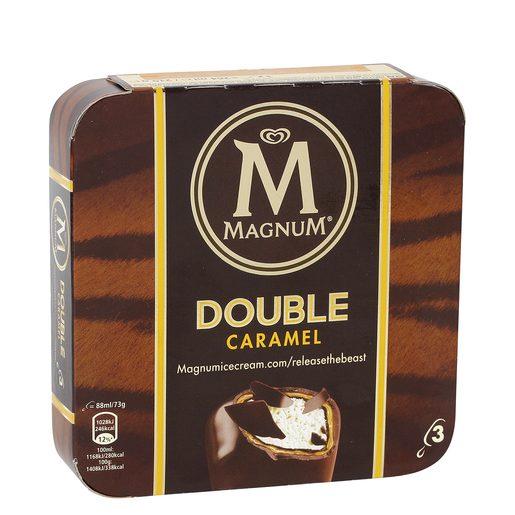 MAGNUM helado doble caramelo caja 3 uds 294 gr