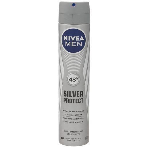 NIVEA Men desodorante silver protect spray 200 ml