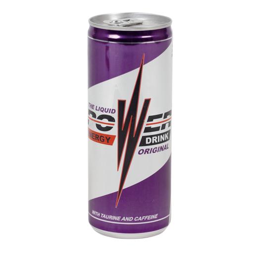 ENERGY DRINK power original lata 25 cl