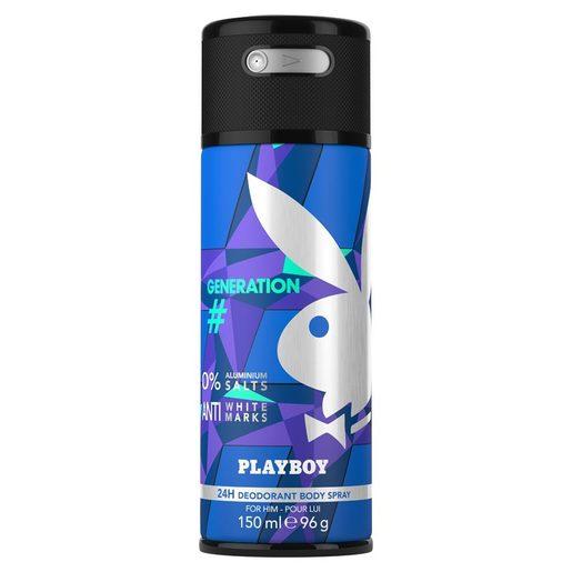 PLAYBOY desodorante masculino generation spray 150 ml