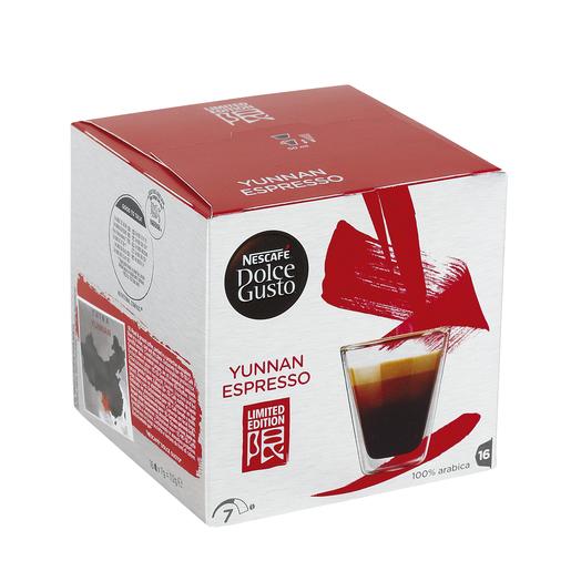 DOLCE GUSTO yunnan espresso caja 16 cápsulas