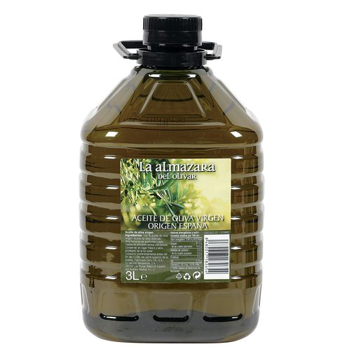 LA ALMAZARA aceite de oliva virgen garrafa 3 lt