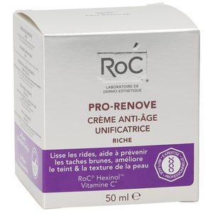 ROC crema facial antiedad unificante tarro 50 ml