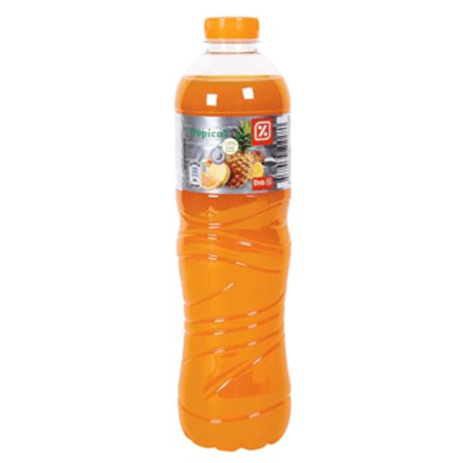DIA refresco de frutas tropicales botella 1,5 l