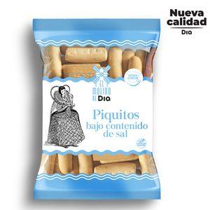 EL MOLINO DE DIA piquitos bajo contenido en sal bolsa 250 gr
