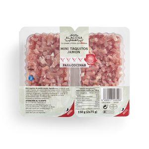 DIA NUESTRA ALACENA mini taquitos de jamón pack 2 x 75 gr