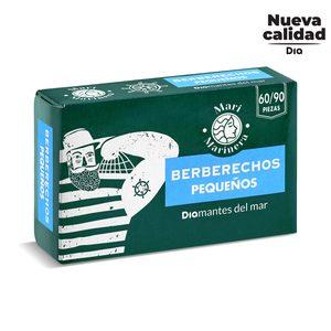 DIA MARI MARINERA berberechos al natural 60/90 piezas lata 63 gr
