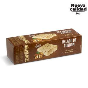 DIA TEMPTATION helado bloque sabor turrón caja 525 gr