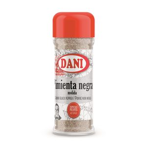 DANI pimienta negra molida frasco 45 gr