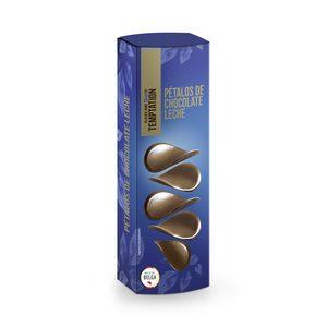 DIA TEMPTATION pétalos de chocolate con leche caja 150 gr