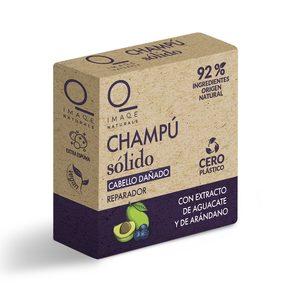 DIA IMAQE Naturals champú sólido reparador con aguacate y arándanos 60 gr