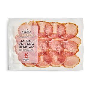 DIA NUESTRA ALACENA lomo de cebo ibérico 50% en lonchas envase 80 gr