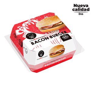 DIA AL PUNTO hamburguesa con bacon envase 220 gr