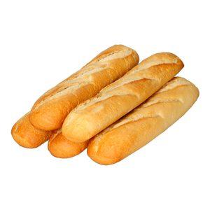 Barrita de pan para bocadillo bolsa 5 uds de 125 gr