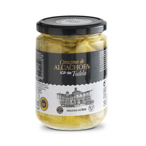 DELICIAS DE DIA corazones de alcachofas IGP de Tudela frasco 250 gr