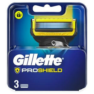 GILLETTE Fusion proshield maquinilla de afeitar recambio blíster 3 uds