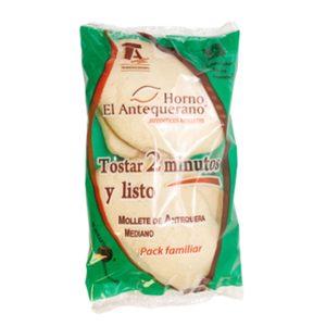 Mollete de Antequera mediano bolsa 4 uds 280 gr
