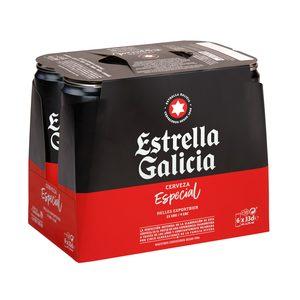 ESTRELLA GALICIA cerveza especial lata 33 cl PACK 6