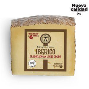 DIA EL CENCERRO queso mezcla ibérico 6 meses leche cruda cuña 300 gr